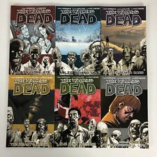 The Walking Dead by Kirkman & Moore Series Volumes 1-6 Set of 6 Comic Books