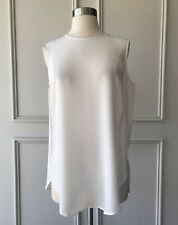 | COUNTRY ROAD | 100% SILK tank top antique white | NEW | SIZE: 10,12,16 |