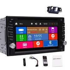 "2 Din Car DVD Player AM/FM Radio 6.2"" Touchscreen Steering Wheel USB Sub+Camera"