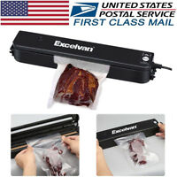 Vacuum Sealer Machine Seal Food Meal Saver Sealing System with 5pcs Bags