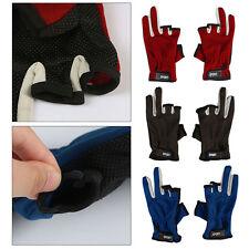 Angeln Handschuhe Anglerhandschuhe Angelhandschuhe ohne Fingerkuppen Outdoor