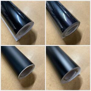 Black Gloss, Matte Vinyl Wrap Sheet Car Wrap 'Air Bubble Free' Car wrapping UK