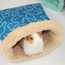 Small Pet Nest Hedgehog Squirrel Hamster Bed Guinea Pig Warm Winter Sleeping Bag