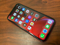 Apple iPhone XR (PRODUCT)RED - 128GB - (Unlocked) A1984 - READ DESCRIPTION