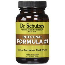 Dr Schulze's кишечника формула #1 органических толстой кишки очищения кишечника 90 капсул