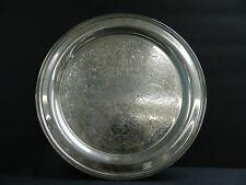 "ONEIDA USA 12 1/4"" Silver Plate Serving Tray Platter"