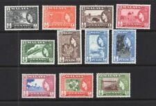 Malaya - Penang 1957 Complete QEII Set - OG MNH* - SC# 45-55  Cats $65.35