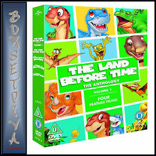 THE LAND BEFORE TIME- THE ANTHOLOGY VOLUME 1 (1 - 4) *BRAND NEW DVD ***