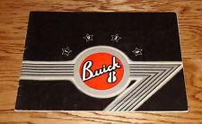 Original 1936 Buick Eight 8 Deluxe Edition Sales Brochure 36