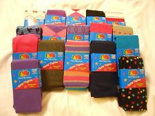 Heavyweight Girls Cotton Tights NEW Kids Children