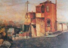Sali Herman, House on the Hill, Paddington,  Large Australian Original Art Print