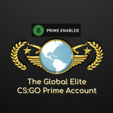 CS:GO The Global Elite - Steam Account , Prime CSGO + Lifetime Warranty