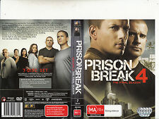 Prison Break-2005/9-TV Series USA-The Final Season 4-[7 Disc Set]-DVD