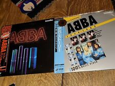 4 vintage ABBA  Rare LASERDISC collection lot Stereo MUSIC japan