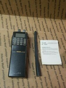 Icom IC-A22 VHF Air Band Handheld Radio/Transceiver GREAT AIRCRAFT AVIATION