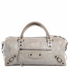 Gently Used 100% Authentic BALENCIAGA Agneau Twiggy Argent in Ivory