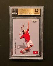 2003 Netpro Elite Glossy #G3 Roger Federer Rookie RC BGS 9.5  1 of 100 Rare