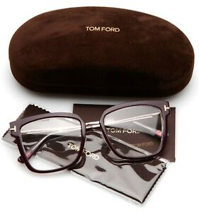 NEW TOM FORD TF 5507 071 BURGUNDY GOLD EYEGLASSES FRAME 53-18-140mm B43mm ITALY