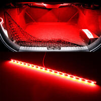 1Pc Red 18-SMD LED Strip Light For Car Trunk Cargo Area or Interior Illumination