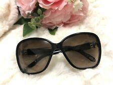 Authentic Tiffany & Co Brown Diamanté Sunglasses