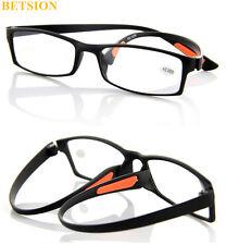 TR90 Flexible light Reading Glasses Full Rim Retro Readers +1 +150 +2 +250 +275