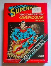 [Atari 2600] → Superman Special Edition ► VideoGioco Vintage 1979!
