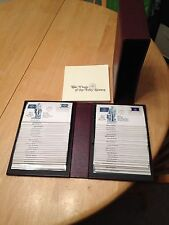 Set of 50 Fleetwood 1976 Flags of the 50 States First Day Covers in Binder&Book