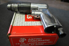 "3/8"" Reversible Air Drill 1,800 RPM w/Jacob USA Chuck Ast-525BZ  Made in Japan."