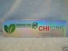 NO PPD Ammonia Free Ionic Shine CHI Hair Color 3 oz (Levels 1 to 9) ~ U Pick!!