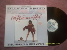THE WOMAN IN RED 1984 MOTOWN SOUNDTRACK LP-STEVIE WONDER,DIONNE WARWICK