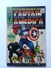 Captain America #100 (Apr 1968, Marvel) Great copy of classic Kirby Issue