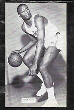 1960's  J.D. McCARTHY BASKETBALL POSTCARD EDDIE MILES -  PISTONS