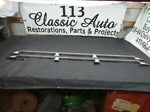 OEM 73-87 Chevy Truck bed rails ORIGINAL SWB C10 K10 C30 square body GMC 1987 GM
