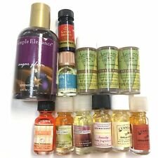 Bath & Body Works Shop Home Fragrance Oils Aromatherapy 12 Bottle Mixed Lot
