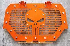 Custom Steel Grille PUNISHER Polaris RZR 1000 XP 15-17 RZR 900 S Spectra Orange