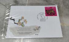 兔年 Chinese Lunar New Year - 2011 Rabbit FDC with Stamp Estonia - Eesti Post