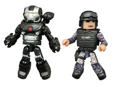 Marvel Minimates series 66 War Machine & Navy Seal Civil War 2 Pack  Diamond