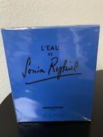 L'EAU DE SONIA RYKIEL PERFUME FOR WOMEN 3.3 OZ 100 ML EAU DE TOILETTE SPRAY NIB