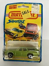 1976 Matchbox #74 Mercury Cougar Wagon (green) 1:64 Scale Made In England