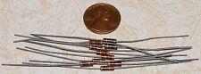 10 Carbon Composition Resistors 3K ohm 1/4W NOS +/-5%