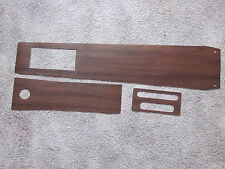 1967 GTO vinyl wood grain console trim for models with an automic transmission