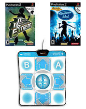 Dance Dance Revolution Extreme and Dance Pad PlayStation 2 PS2 + American Idol