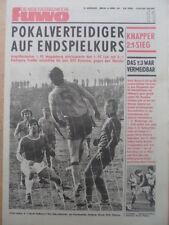 FUWO 11- 13.3. 1979 ** Austria Wien-Dresden 3:1 Magdeburg-Ostrava 2:1 FDGB-Pokal