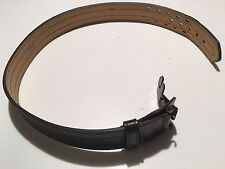 Adjustable Black Duty Belt With Hidden Buckle Leathergould Amp Goodrich Size 34