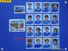 Panini★WM 1986 WorldCup WC 86★Team Italien Komplett-Satz / Italy complete set