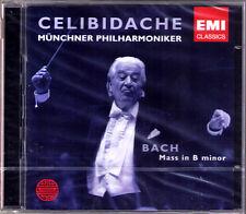 CELIBIDACHE: BACH Messe h-moll BONNEY SCHREIER EMII 2CD Sergiu Donose Ruxandra