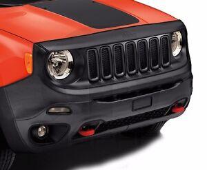 15-18 Jeep Renegade Trailhawk New Front End Cover Hood Bra Black Mopar Oem
