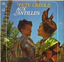 """GERARD LA VINY """"FETE CREOLE AUX ANTILLES"""" BIGUINE CALYPSO LP ARION 30 T 087"""