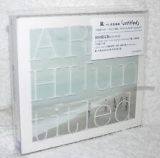 Arashi untitled 2017 Taiwan Ltd CD+DVD+80P booklet (digipak)
