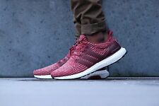 Adidas Ultra Boost 3.0 Burgundy 8 UK Mystery Red Mens Trainers Running BA8845